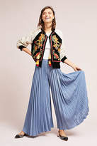 Anthropologie Pleated Wide-Legs