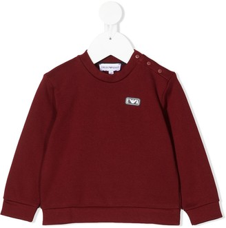 Emporio Armani Kids Long-Sleeve Sweatshirt