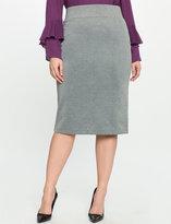 ELOQUII Plus Size Neoprene Pencil Skirt