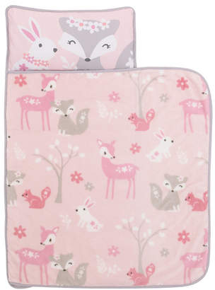 Everything Kids Fox Nap Mat with Pillow and Blanket Bedding