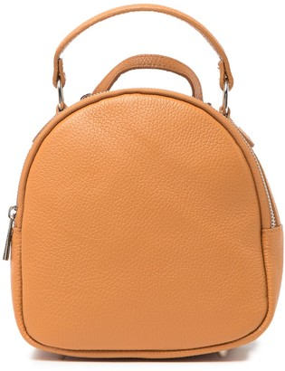 Isabella Rhea Rosso Leather Mini Backpack