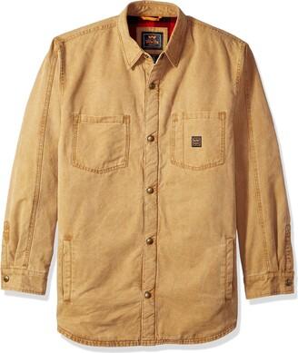 Walls Men's Bandera Vintage Duck Shirt Jacket Big-Tall
