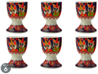 Maxwell & Williams Love Hearts Egg Cup Cup Cakes Set