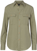 Polo Ralph Lauren Cotton-Linen Safari Shirt