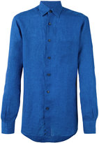 Ermenegildo Zegna long sleeve chambray shirt