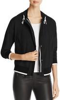 DKNY Long Sleeve Hooded Jacket