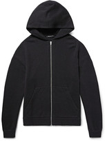 Alexander Wang Wool and Cashmere-Blend Zip-Up Hoodie