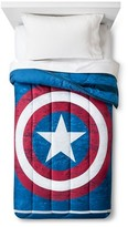 Marvel Captain America® Comforter - Twin - Blue