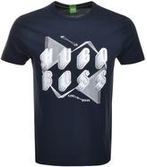 BOSS GREEN Teeos T Shirt Navy