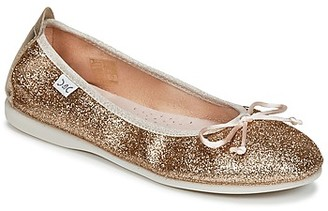 Citrouille et Compagnie GLITO girls's Shoes (Pumps / Ballerinas) in Gold