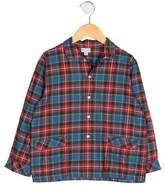 Papo d'Anjo Boys' Plaid Pajama Set