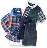Ralph Lauren Plaid Shirt & Pant Gift Set