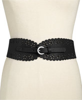 INC International Concepts Tapered Perforated Belt, Only at Macy's