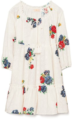 Tory Burch Embroidered Beach Dress