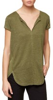Sanctuary Women's City Woven Back Knit Tunic