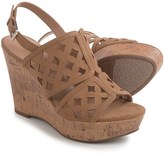 Franco Sarto Shea Micro Cork Wedge Sandals (For Women)