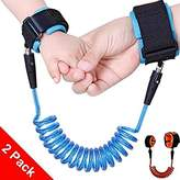 5Ft Child Anti Lost Belt, MagnolianToddlers Walking Handle Wrist Safety Harness Straps for Kids/ Baby/ Toddlers, Perfect Security Kid Keeper, Adjustable Toddler Tether with Safety Wristband