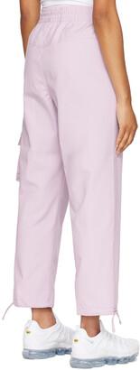 Nike Purple Sportswear Icon Clash Lounge Pants