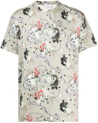 Ih Nom Uh Nit floral print T-shirt