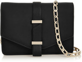 Victoria Beckham Textured-leather Mini Satchel - Black