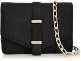 Victoria Beckham Textured-leather Mini Satchel - Black