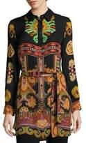 Etro Silk Paisley-Print Tunic
