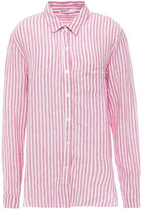 Stateside Striped Linen-gauze Shirt