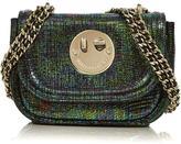 Hill & Friends Happy Tweency Chain Bag- Green