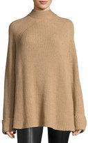 The Row Angel Oversized Mock-Neck Sweater