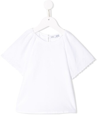 Knot Loose Sleeves Blouse