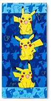 Pokemon Beach Towel Blue/Yellow