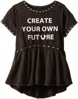 True Religion Studded Future Tee Shirt Girl's T Shirt