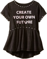 True Religion Studded Future Tee Shirt (Toddler/Little Kids)