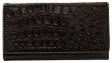 Liebeskind Berlin Batilda Reptile Embossed Genuine Calf Hair Clutch Wallet