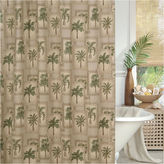 Asstd National Brand Palm Grove Shower Curtain