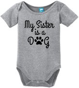 Sod Uniforms My Sister is a Dog Onesie Funny Bodysuit Baby Romper