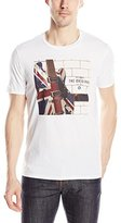 Ben Sherman Men's Union Jack Guitar Graphic T-Shirt
