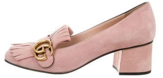 cde26393017 Marmont Suede Pumps rose Marmont Suede Pumps