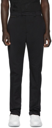 Fendi Black Stretch Chino Trousers