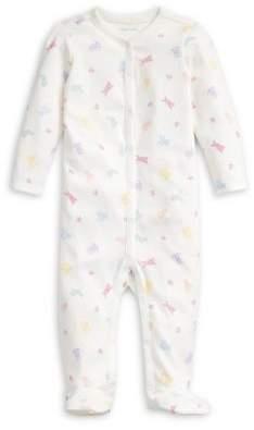 Ralph Lauren Childrenswear Baby Boy's Stuff Animal-Print Cotton Footie