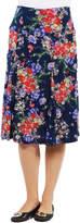 24/7 Comfort Apparel Tokyo Garden Maternity Skirt - Plus