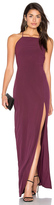 Donna Mizani Square Neck Maxi Dress