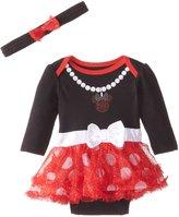 Disney Baby-Girls Newborn Minnie Bodysuit Dress