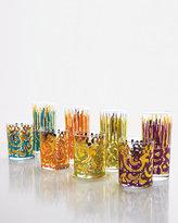 Leopard-Print & Brocade Drinkware