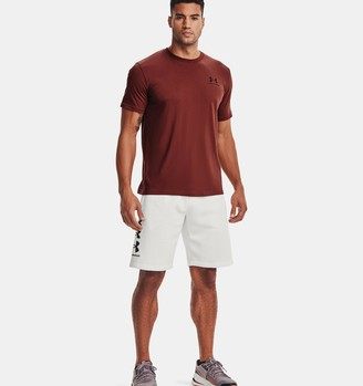 Under Armour Men's UA Rival Fleece Multilogo Shorts