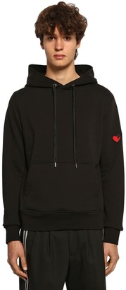 Neil Barrett Lightweight Cotton Jersey Hoodie