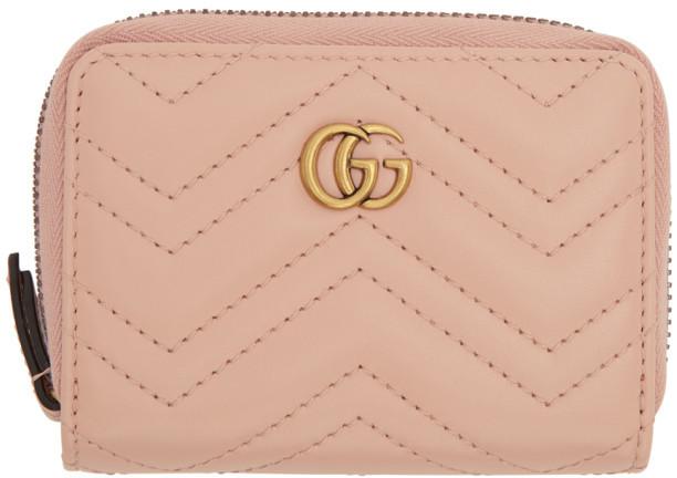 85e99e4ac03 Gucci Marmont Pink - ShopStyle