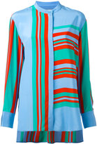 Diane von Furstenberg striped blouse - women - Silk - L