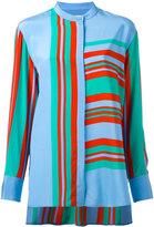 Diane von Furstenberg striped blouse