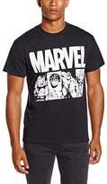 Marvel Men's Action Title T-Shirt